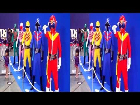 秘密戦隊ゴレンジャーマネキン (yt3d) Himitsu Sentai GORANGER mannequin