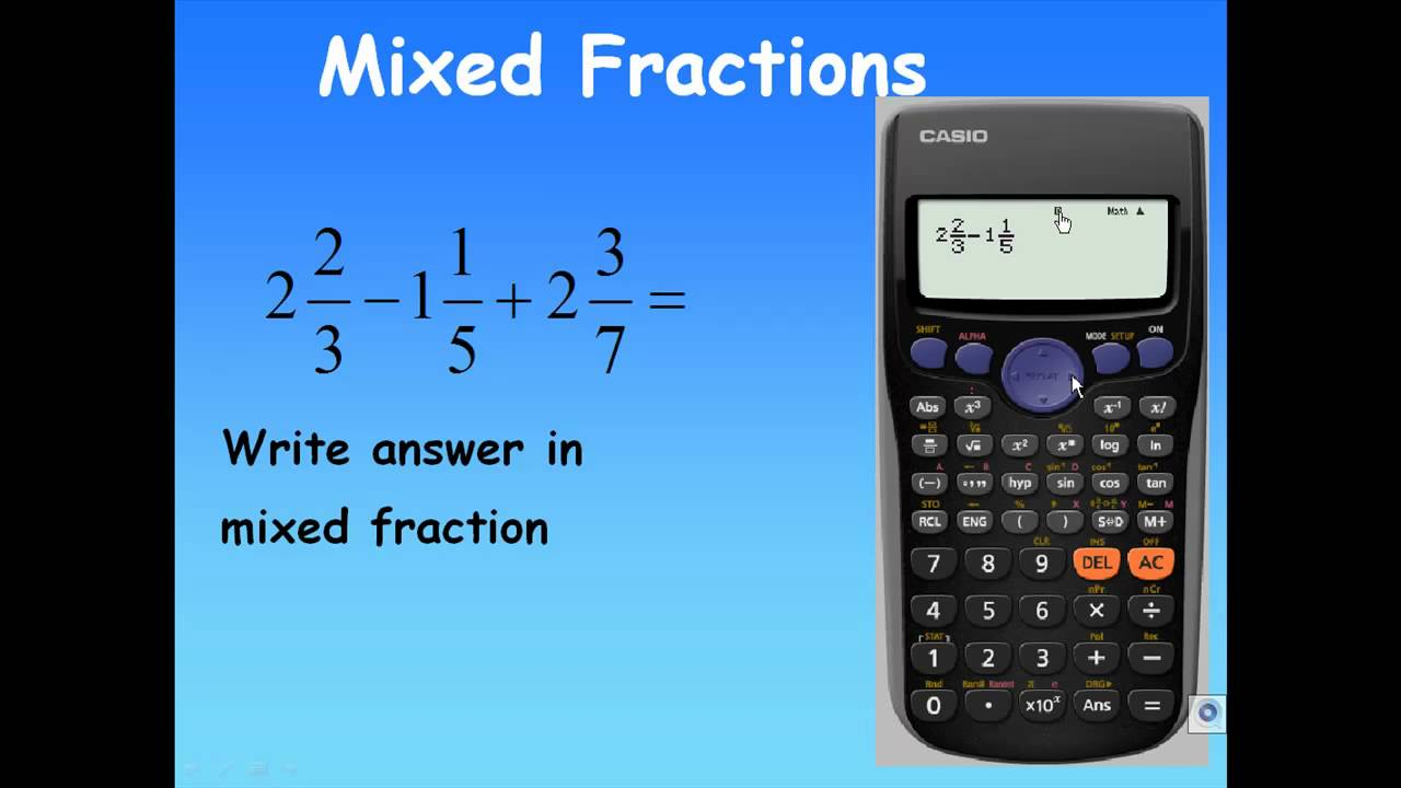 Option not to mention Subtraction about fractions working with loan calculator