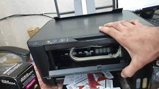 EPSON L3110 REVIEW And RED LIGHT ERROR SOLUTION||Installation And