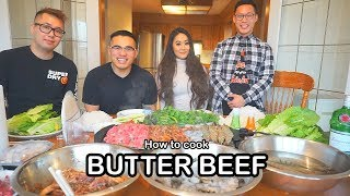 How to cook BUTTER BEEF *FOR MY FRIENDS