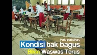 Nelangsa, Siswa SD di Bojonegoro ini Waswas saat Belajar