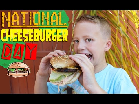 CHEESEBURGERS!!  It's National Cheeseburger Day!!