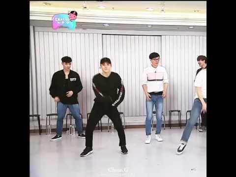 Xiumin's dancing skills (시우민)