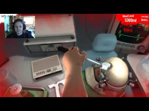 Miss Angel's Let's Play - Surgeon Simulator 2013 #2