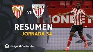 Resumen de Sevilla FC vs Athletic Club (0-1)