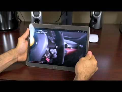 Samsung Galaxy Tab S 10.5 Review (4K)