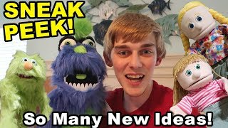 NEW SML PUPPETS AND CHARACTERS!! (Unboxing)