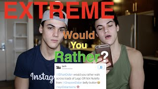 EXTREME WOULD YOU RATHER // Dolan Twins