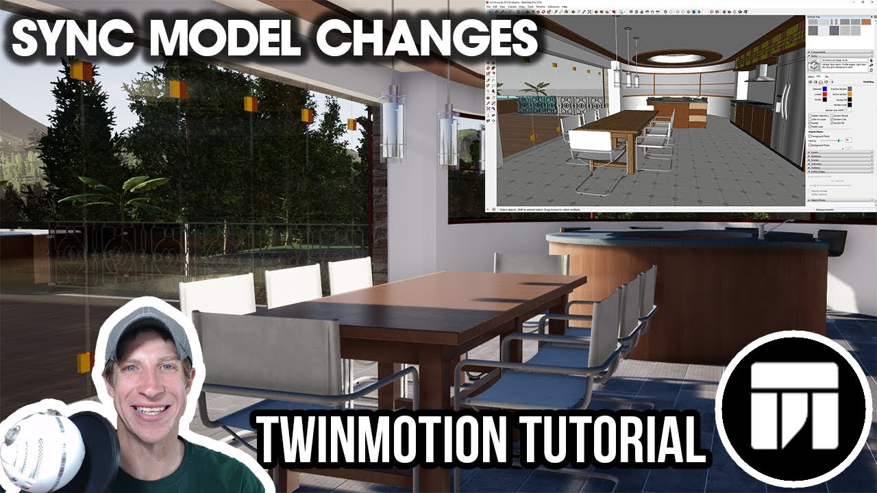 SYNCING SKETCHUP MODEL CHANGES in Twinmotion - Twinmotion Quick Tips