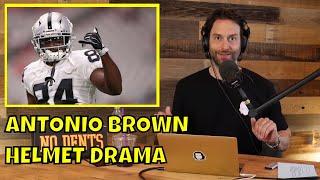 Chris D'Elia Reacts to Antonio Brown Helmet Drama