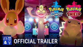 Pokémon Sword and Pokémon Shield Gameplay Trailer - GigantamaxPokemon are coming!