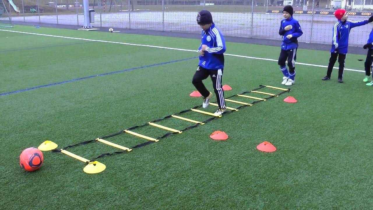 F Jugend Training Koordination