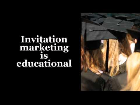 Interruption Marketing vs. Invitation Marketing