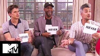 Queer Eye Cast Play NEVER HAVE I EVER: FAB FIVE Edition   MTV Movies
