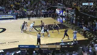 Penn State at Purdue - Men's Basketball Highlights