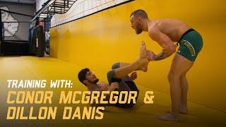 Conor Mcgregor & Dillon Danis training ahead of UFC 205