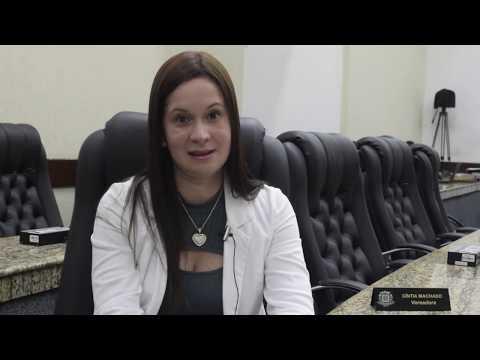 Cintia Machado diz que todos precisam trabalhar para beneficiar o povo