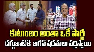 CM Jagan Condition to Daggubati Venkateswar Rao!- Prof K ..