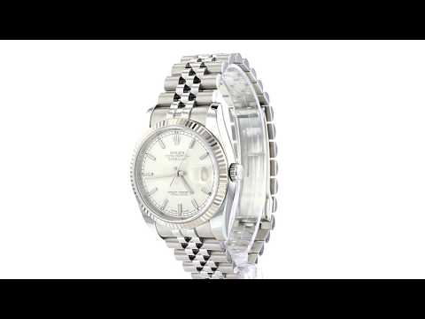 Rolex Oyster Perpetual Datejust 36MM - 116234 - YEAR 2008