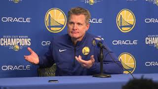 Kerr 'shocked' by Fizdale firing, blames former Warriors' assistant's dismissal on injuries