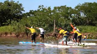 The Pantanal Extremo 2014 SUP Race in Brazil