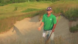 Erosion Bunkers at the 2017 U.S. Open