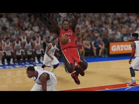 NBA 2K15 PS4 My CUHreer - Patch Test vs. Embiid