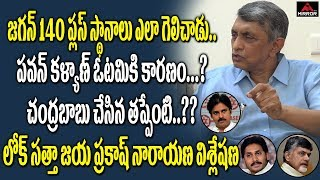 Jaya Prakash Narayan Reaction On AP Election Results..