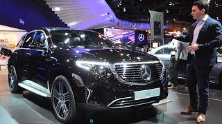 2019 Mercedes EQC 400 REVIEW First | ALL Electric SUV Interior Exterior