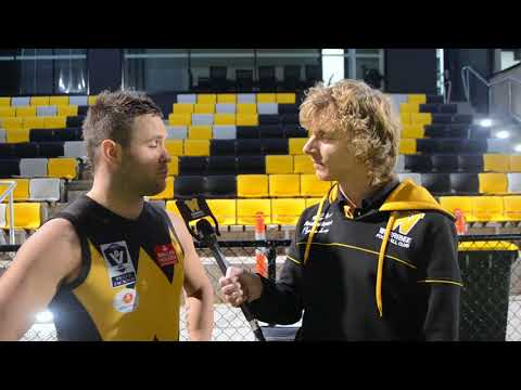 Andrew Hooper: 100 VFL games