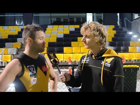 Andrew Hooper: 100 VFL games