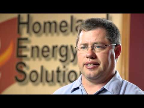 Homeland Energy sweep testimonial