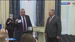 Избранные депутаты получили заветные удостоверения
