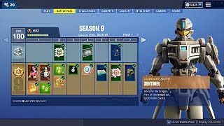 Fortnite SEASON 9 New BATTLE PASS, Map & Skins! (Fortnite Battle Royale)