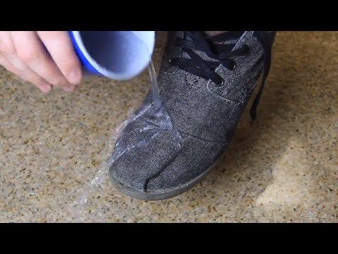 Truk gjenial: Kurrë më nuk do të keni këpucë të lagura!