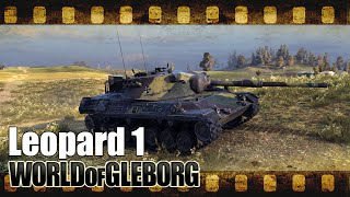 World of Gleborg. Leopard 1 - лучше AMX 30 B?