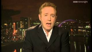 'Forget Gotham, what about Detroit?' Comic book legend Mark Millar - Newsnight