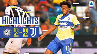 Udinese 2-2 Juventus | Dybala & Cuadrado score in opening day draw | Serie A Highlights