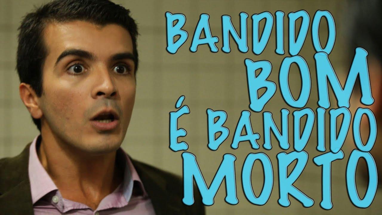 Com bom humor vídeo discute o que é ser bandido