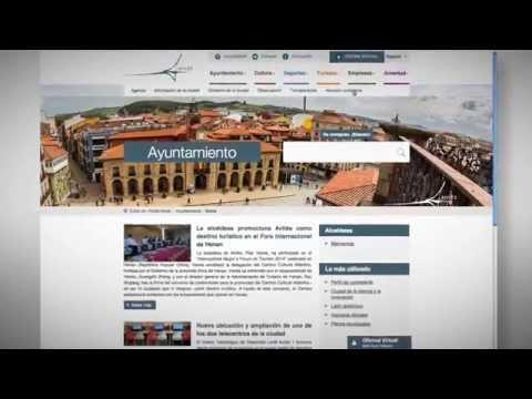 Nuevo Portal Web y Sede Electrónica del Ayuntamiento de Avilés