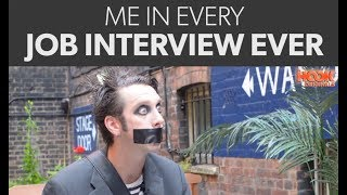 TAPE FACE IN EVERY JOB INTERVIEW EVER