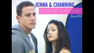 Jenna & Channing's ORIGINAL Step Up Audition!