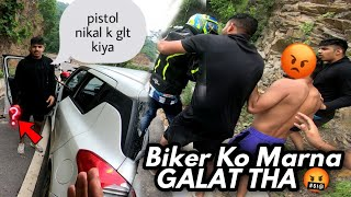 Extreme road rage | Fight with haryana boys 😡| Aise ladai nahi hui thi ajtaak 😡