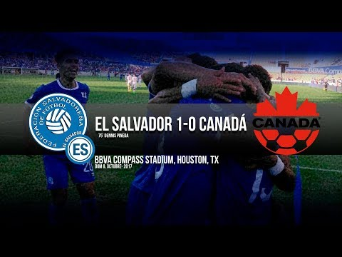 El Salvador vs Canadá
