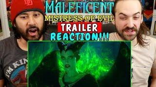 MALEFICENT 2: Mistress Of Evil | TRAILER - REACTION!!!