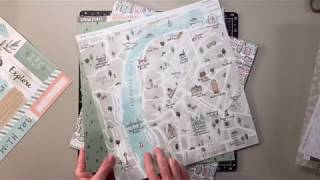 The World is Yours, Exploring Chicago scrapbook process video