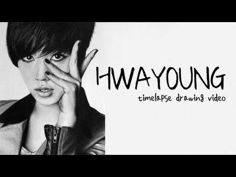 Ryu Hwayoung - Graphite Pencil Drawing