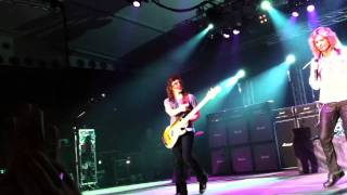 Whitesnake - Kerkrade July 16th Band Introduction & Now you're gone a capella