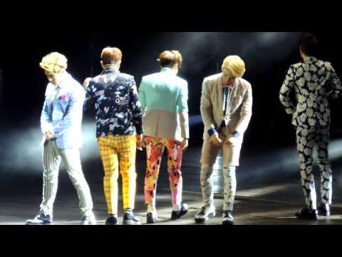 130309 Music Bank in Jakarta SHINee - 아름다워 (Beautiful) + Sherlock + Ment + Dream Girl