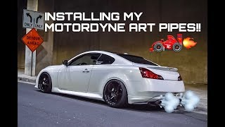Infiniti G37S Test pipes Videos - Playxem com